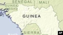 几内亚地理位置图(资料照片)