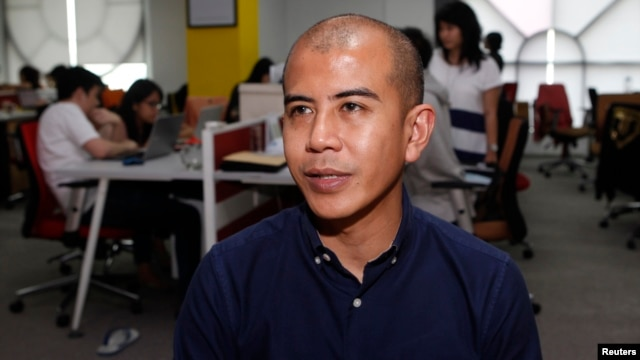 Nanda Ivens, COO at XM Gravity Indonesia, speaks during an interview at his office in Jakarta, March 26, 2013.