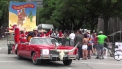 Wacky and Colorful Vehicles Roll Through Houston