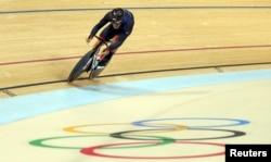 Callum Skinner of Great Britain competes in Rio de Janeiro, Brazil, Aug. 11, 2016.