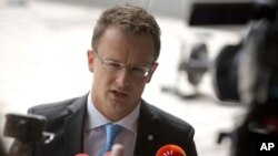 Міністр закордонних справ Угорщини Петер Сійярто
