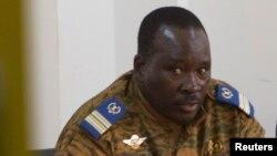 Le lieutenant-colonel Isaac Zida