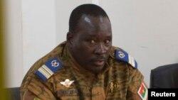 Waziri mkuu wa Burkina Faso Luteni Kanali Isaac Zida
