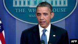 Predsednik Barak Obama govori u Beloj kući, 11. juli, 2011.