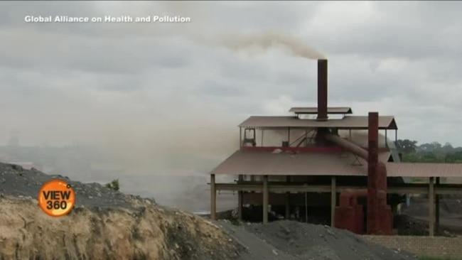 دنیا میں 40 فی صد اموات کی وجہ فضائی آلودگی