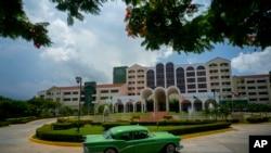 哈瓦那的一家酒店,由古巴军方所有,美国公司管理