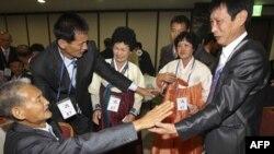 Граждане Южной Кореи встретились с родными в Северной Корее