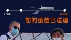 隨著疫苗陸續抵達 台灣單日本土新冠病例減至三級警戒以來新低