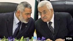 """Netanyahu instó a Abbas a """"romper"""" el pacto del mes pasado con el movimiento islamista Hamas."""