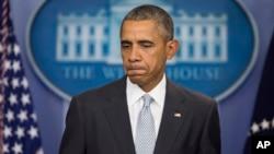 El presidente Barack Obama remarcó que es necesario controlar el acceso a las armas de fuego para evitar que personas que no deben portar una la usen para matar vidas inocentes.