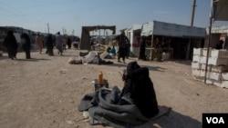 Izbeglički kamp al-Hol u Siriji, 17. oktobra 2019.