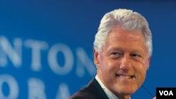 Ex presidente Bill Clinton enviado especial de las Naciones Unidas para Haití.