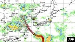Bão Muifa sẽ đổ bộ vào tối thứ Bảy hay sáng Chủ nhật gần Thượng Hải