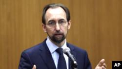 Верховний комісар ООН з прав людини Зейд Раад аль-Гуссейн