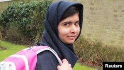 巴基斯坦少女优素福(資料圖片)