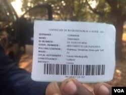 Omunye obhalise ukuvota kugwalo lokuvota ngoLwesine nguMnu. Tawanda Chimnini wenhlanganiso ekhankasela ukhetho olubalulekileyo eyeElection Resource Center.
