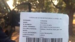 Zimbabweans Start Registering for 2018 General Elections