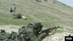 Afganistanski vojnici na obuci
