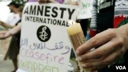Amnesty Internasional Imbau Penegakan Hak Asasi dan Demokrasi di Timur Tengah dan Afrika Utara (Foto: dok).