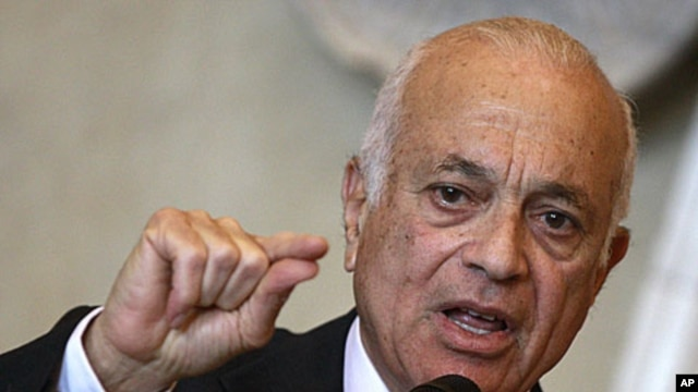 Arab League chief Nabil Elaraby (file photo)