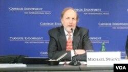 卡內基和平基金會中國安全和外交問題專家麥克‧施維恩