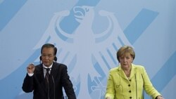 ديدار رهبران آلمان و چين