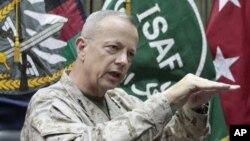 جان الن جنرال، قوماندان عمومی نیرو های امریکایی و ناتو در افغانستان