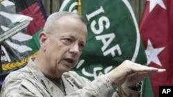جنرال جان الن، قوماندان عمومی قوای ناتو در افغانستان