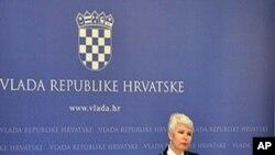 Hrvatska premijerka Jadranka Kosor