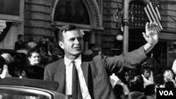 """""""Corc Buşun 1964 senat seçki kampaniyasından aldığı dərs bu oldu ki, elə seçkilər var ki, onları udmaq olmur. Məğlubiyyət incitdi, ancaq onun siyasətə və ictimai xidmətə entusiazmını söndürmədi."""""""