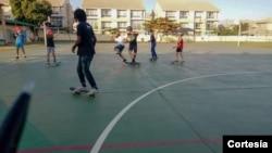 Projeto Skate e Educação nas escolas
