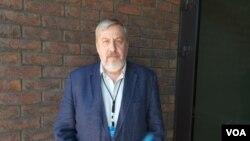 """Андрей Санников - координатор гражданской кампании """"Европейская Беларусь"""""""