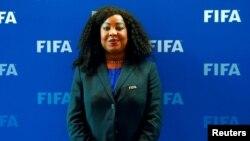 Fatma Samoura lors d'une réunion au Conseil de la Fifa, à Zurich, Suisse, le 14 octobre 2016.