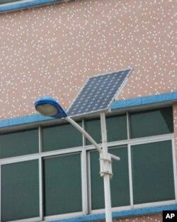 发展太阳能LED路灯可能为大陆台商带来新机遇