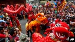 مراسم جشن سال نو چینی در فلیپین