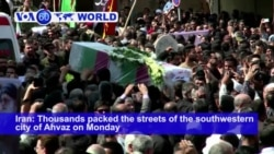 VOA60 World- Thousands of Iranians packed the streets of the southwestern city of Ahvaz on Monday to mourn the victims of a Saturday attack