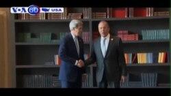 Ngoại trưởng Kerry đang ở Nga để hội kiến Tổng thống Putin (VOA60)