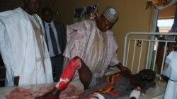 """Gwamna Kashim Shettima Na Borno Yace An Kusa Kawo Karshen Haukar Nan Ta Boko Haram - 2'04"""""""