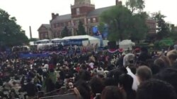 President Barack Obama Addressing Graduates At Howard University