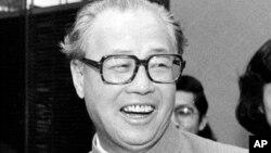 中國前總理趙紫陽(1984年1月11日美聯社)