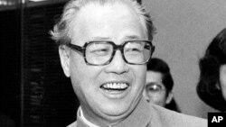 中國改革派領導人趙紫陽。