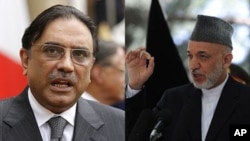 تاکید رهبران افغان و پاکستانی بر مبارزه مشترک علیه دهشت افگنی