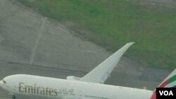 Avion kompanije Emirates kojim je Faisal Shahbaz pokušao otići u Dubai