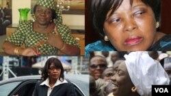 Une poignée des 15 Premières ministres qui ont exercé en Afrique. (Photo montage)