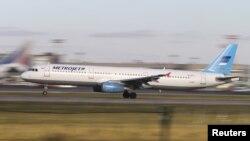 Metrojet Airbus A321, який розбився на Синаї