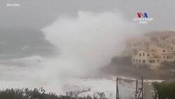 Գլորիա փոթորկի պատճառով ծովի ալիքների բարձրությունը հասել է 15 մետրի
