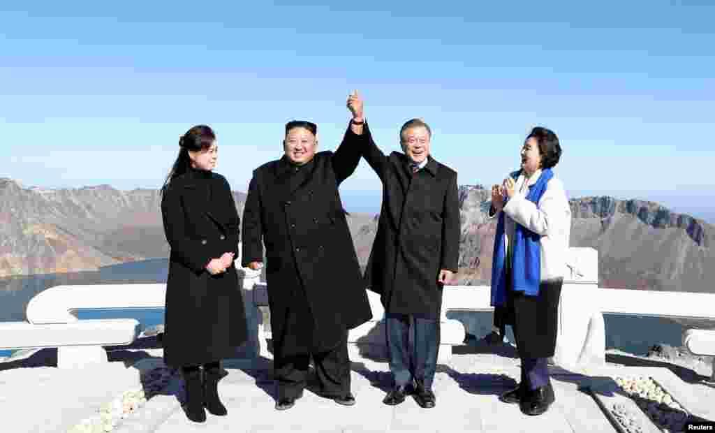 دیدار سه روزه رهبران دو کره در پیونگ یانگ پایان یافت. آنها بر خلع سلاح کره توافق کردند.