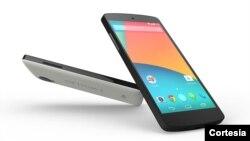 El Nexus 5 posee un procesador similar al del más reciente iPhone pero con el sistema operativo Android a un precio más económico que la competencia.