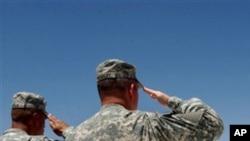 امریکی افواج میں خودکشی کے رجحان میں کمی