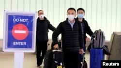 Putnici stižu na aerodrom u Los Anđelesu iz Šangaja.